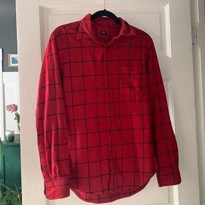 Uniqlo Flannel Button Down